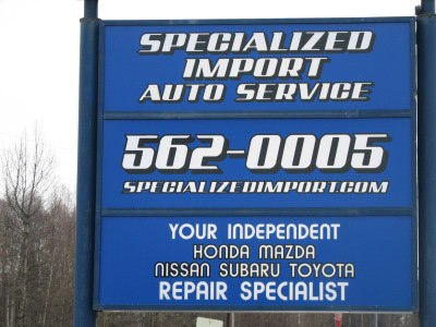 Specialized Import Auto Service in Anchorage